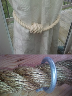 Curtain Tie Backs and Miscellaneous Rope Products