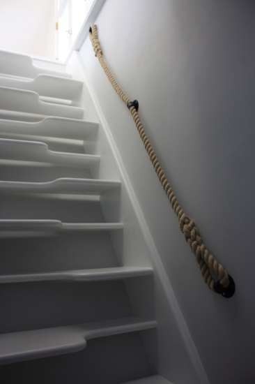 Stair Rope Banisters