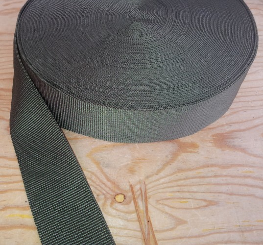 Green Nylon Webbing - Click Image to Close