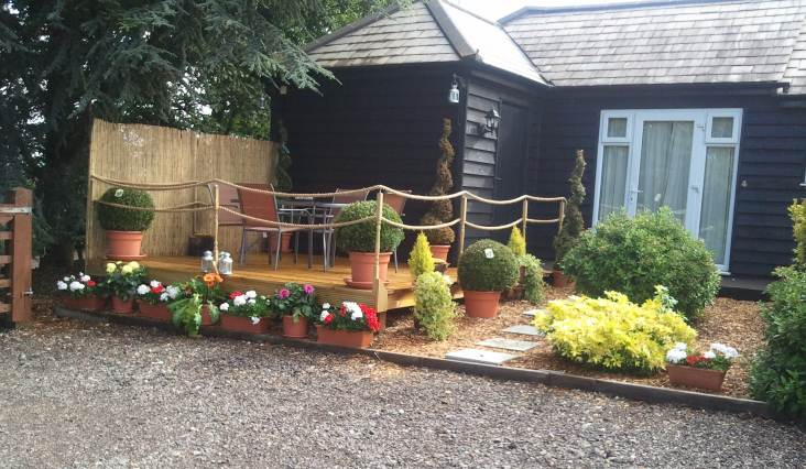 Manila rope garden decking from for Garden decking hinckley